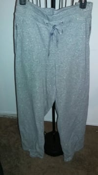 Pewter Shimmery Sweat Pants with pockets  Riverside, 92503