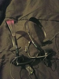 Xbox 360 headsets 2 of them Rudolph, 43462