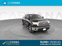 2012 Toyota Tundra CrewMax pickup Pickup 4D 5 1/2 ft Black <br Petersburg