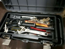 2 tool Boxes with everything in pictures