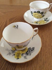 Vintage bone china cups and saucers  Edgewater, 21037