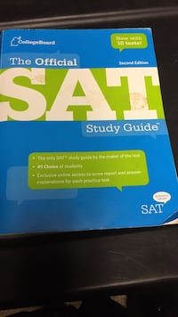 The Official SAT study guide book Cranston, 02910