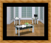 3pc glass coffee table Bowie, 20720