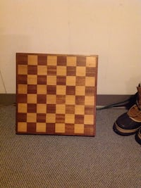 Chess/Checker board.  Hand made.  2x2 squares