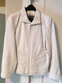 Daniel leather jacket ( white)