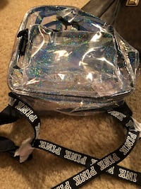 Victoria secret black and white with sparkles backpack Virginia Beach, 23454