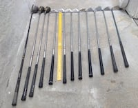 Twelve Golf Clubs: Spalding, Billy Club, Ladies Calloway+others*ALL:$32 YES $32!Take ALL*Need the space!!?! San Diego, 92131