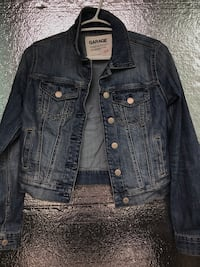 Garage shot denim jacket Toronto, M2N