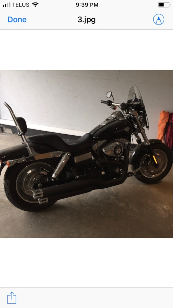 2011 Harley Davidson dyna fat boy. It is in excellent condition