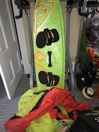 Kiteboard and accessories
