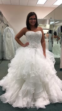 Never worn wedding gown Kingsport, 37663