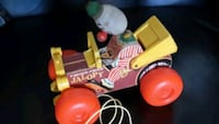 Antique jalopy pull toy Delray Beach