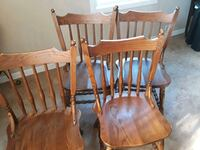 two brown wooden windsor chairs Romeoville, 60446