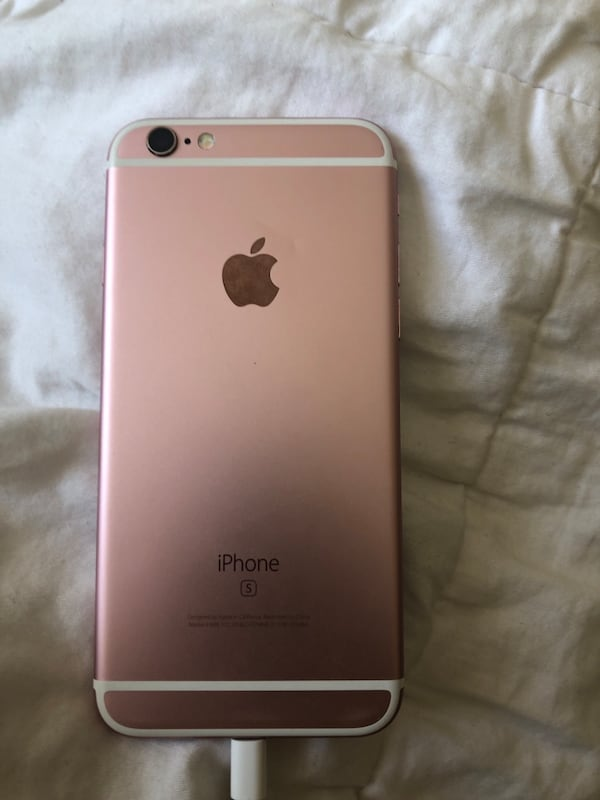 Rose Gold iPhone 6s unlocked w otterbox case 3cbcc5ea-b813-4463-8726-9a2b925f5d5f