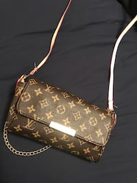 Brown louis vuitton leather cross body price reflects its authenticity Oakville