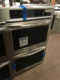 Frigidaire Gallery Self-Cleaning Convection Double Electric Wall Oven (Stainless Steel)  Farmers Branch, 75234