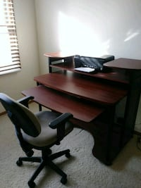 Office desk like new Aurora, 80012