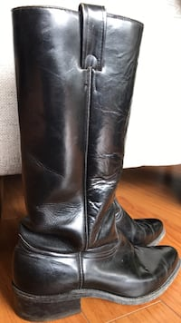 Men's riding boots - Size 11.5 - all leather 534 km