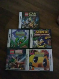Three DS games/Two 3DS games Tempe, 85281