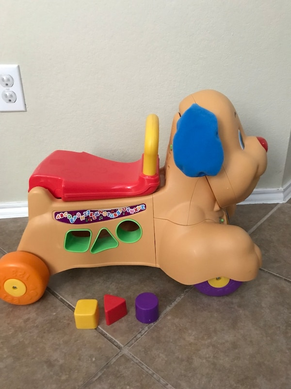 Fisher price laugh and learn stride to ride