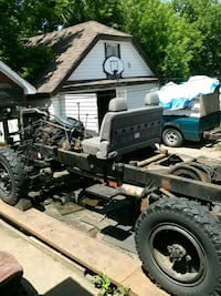 Cmp army truck frame.  St. Catharines, L2M 5M4