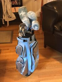 Full set of women's golf clubs and bag irons and woods Alexandria, 22314