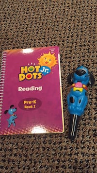 Hot Jr. Dots reading system. Portable on the go includes batteries. I love this reading learning toy. Vaughan, L4J 5L7
