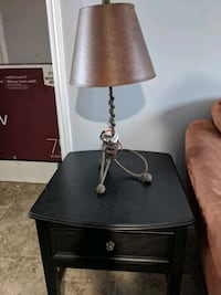 End Table Lamp Set