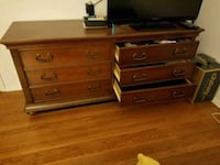 brown wooden dresser and nightstand Ashton-Sandy Spring, 20860