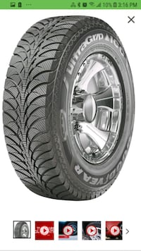 Goodyear Winter Tires Ultra Grip Ice WRT