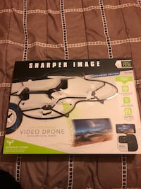 Black and white quadcopter drone with box Upper Arlington, 43221