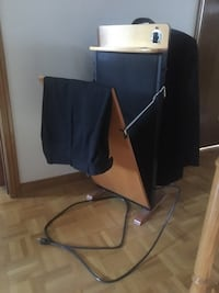 Vintage Valet Suit Stand with Trouser Press