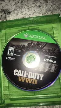 Console Game / CoD WW2 Pittsburgh, 15120