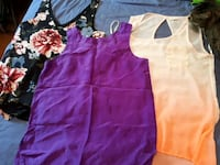 women's purple and white dress Edmonton, T5H 2Z6