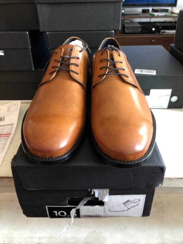 Everson Italian Leather Oxford 10.5
