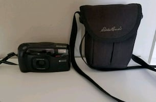 RICOH Film Camera 38-90mm Lens & Case