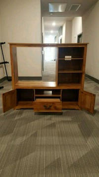 Wooden Entertainment Center Richardson, 75082