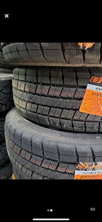 215/55/r17 winter tires brand new 4