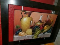 brown wooden framed painting of fruits Laredo, 78041