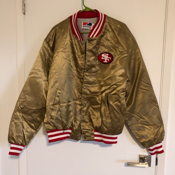 lowest price a234f 35bb8 Vintage San Francisco 49ers Jacket by Swingster