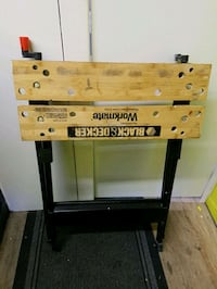 Black and Decker work bench