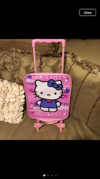 Hello Kitty kids carry on luggage