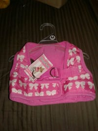 Lulu Pink soft Harness for your DOGGIE