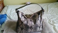 brown and black snakeskin handbag Mississauga, L5H