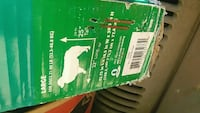 green and white Hitachi air compressor box Gaithersburg, 20877