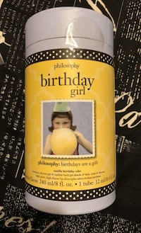 Philosophy birthday girl shampoo,shower gel, bubble bath and lip shine Mississauga, L5M 1C2