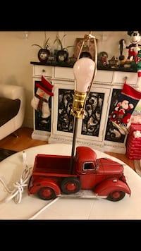 Red Tin Truck Lamp NEW Paterson, 07505