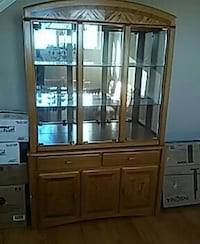 China cabinet. Crest Hill
