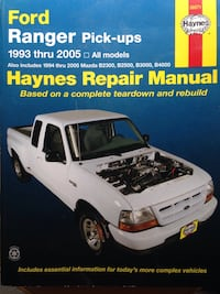 Haynes Ford Ranger Repair Manual Woodbridge, 22193