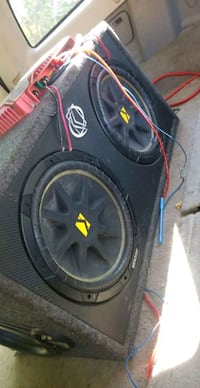 Subs amp and cap